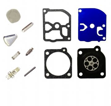 Zama RB-41 Carburettor Repair Kit, Diaphragm, Gasket, Needle, Lever, Spring, Pin, Welch Plugs, RB41